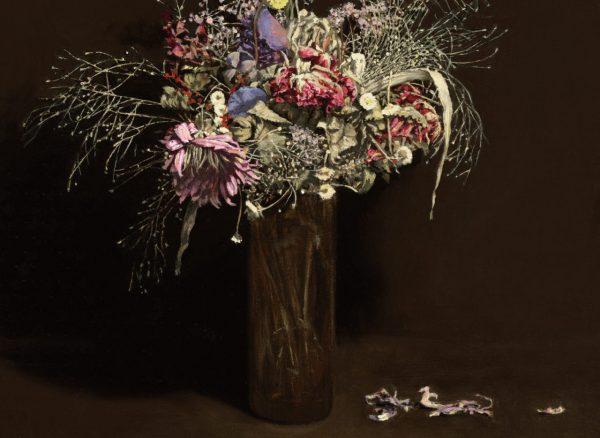 oil painting still life flowerpiece